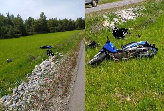 23χρονος σκοτώθηκε με κλεμμένο μηχανάκι στην Εύβοια